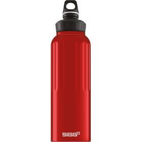 Sigg WMB Traveller Drikkeflaske 1500 ml, rød